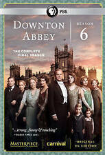 Masterpiece: Downton Abbey - Season 6 (DVD, 2016, 4-Disc Set) without slipcover