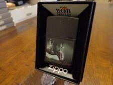 BOB MARLEY REDEMPTION SONG BLACK MATTE ZIPPO LIGHTER MINT IN BOX