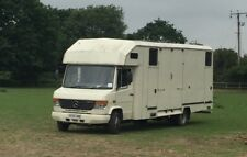 2005 Mercedes 814D Horsebox (would px on large trailer or 3.5 ton) low mileage