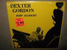 DEXTER GORDON Doin' Allright 1961 RARE SEALED New Vinyl LP 1982 Freddie Hubbard
