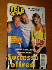 TELESETTE 2000/27=MIKE BONGIORNO ELLEN HIDDING ALESSANDRO DI CARLO=GUIDA TV=