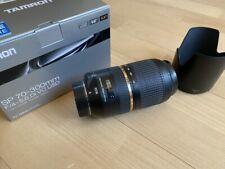 Tamron 70-300mm 70-300 mm SP VC Di USD Objektiv für Nikon