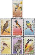 Nicaragua 2637-2643 (compleet.Kwestie.) postfris MNH 1986 Vogels