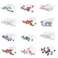 20 Pcs  Fashion Wedding Bridal Pearl Crystal Flower Hair Pins Clips Bridesmaid