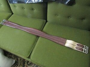 GENTLY USED 47 INCH LEATHER GIRTH