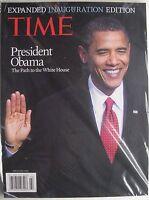 BARACK OBAMA EXPANDED INAUGURATION EDITION 2009 TIME Magazine NEW MINT SEALED!
