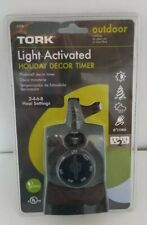 **NEW**Tork Light-Activated Holiday Decor Timer