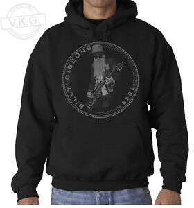 BILLY GIBBONS ZZ TOP Cool Coin Hoodie Sweatshirt by V.K.G.