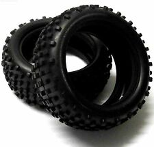 06009 1/10 Off Road RC Buggy Front Tyres Tire x 2 Studd Tread