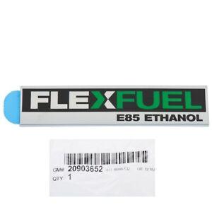 OEM Rear Liftgate Flex Fuel Emblem Badge 07-14 Cadillac Chevrolet GMC 20903652