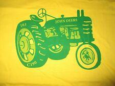 """Chris's Sayings JOHN DEERE """"If Life Deals You Lemons Make LEMONADE"""" (LG) T-Shirt"""