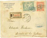 Uruguay Cover 1925 Registered