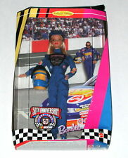 Mattel Barbie 50th Anniversary Collector Edition Nascar Doll in Package