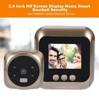 """2.4"""" Spioncino Elettronico HD Telecamera Digitale Colori LCD Peephole Monitor"""