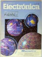 REVISTA ESPAÑOLA DE ELECTRÓNICA - Nº 520 MARZO 1998 - 98 PÁGINAS - VER SUMARIO