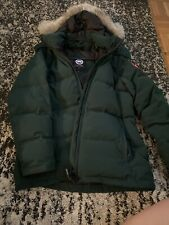 Canada Goose Chelsea Parka In Dark Green Size Large $950