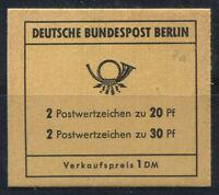 Berlino 1966 Mi. MH 7a Libretto 100% Nuovo ** Porta di Brandeburgo