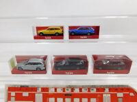 CG467-0,5# 5x Herpa H0/1:87 BMW 5er Touring: 020961 + 022347 + 032322, NEUW+OVP