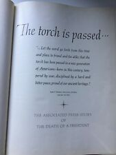 Vintage The Torch is Passed 1963  Kennedy JFK Assassination President Book by AP