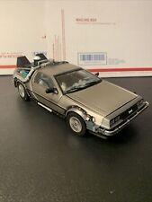 """Sun Star """"Back to the Future II Time Machine"""" 1/18 DeLorean"""