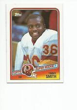 TIMMY SMITH 1988 Topps Football ROOKIE card #11 Washington Redskins NR MT
