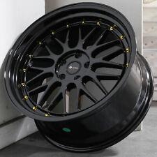 19x9.5 Gloss Black Wheels Vors VR8 5x114.3 22 (Set of 4)  73.1