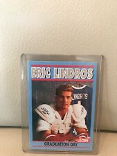1991/1992 SCORE ERIC LINDROS GRADUATION DAY ROOKIE CARD.