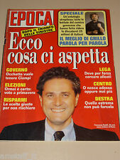 EPOCA=1993/2253=FRANCESCO RUTELLI=KEANU REEVES=BEPPE GRILLO=MARIELE VENTRE=