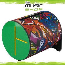 New Remo Rhythm Log Drum - Unique Tones on 3 Sides - Green - RL-0708-09-RG