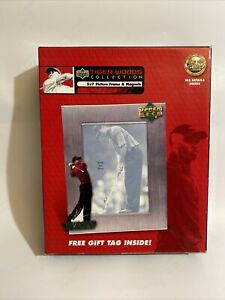 Upper Deck Tiger Woods Collection 5x7 Picture Frame w/ Magnets & Free Gift Tag