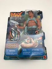 "Mattel MAX STEEL SUPER AGENT 12"" Action FIGURE"