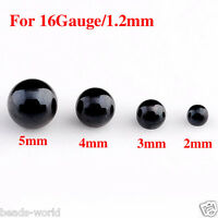 Stainless Steel Ball Beads Fit Ear Lip Nose Navel Ring Piercing Accessories 100x