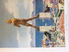 m17a1 ephemera 1920s book plate the colossus of rhodes