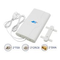 Indoor Blazing Fast 3G 4G 88dBi LTE MIMO Antenna 700MHz 2600MHz 2M Wire SE