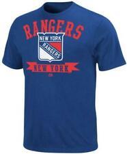 New York Rangers t shirt Majestic royal NWT