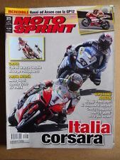 MOTOSPRINT n°25  2011 [Q75] Test Novità Moto Guzzi Stelvio 1200 8V e NTX