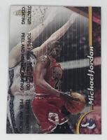 1998-99 Topps Finest MICHAEL JORDAN w/Protective Coating #81 Bulls HOF