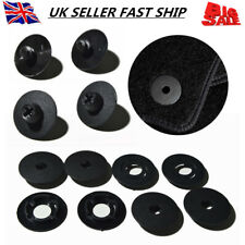 4 Set Car Mat Carpet Clips Fixing Grips Floor Holders For Audi VW Skoda Seat UK
