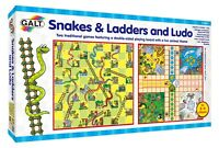 Galt Toys Snakes and Ladders and Ludo Best Family Game Set - FREE DELIVERY