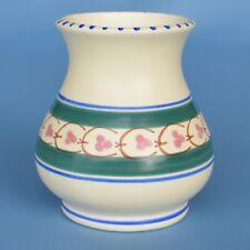 More details for vintage honiton devon pottery manaton vase persian border pattern excellent cond