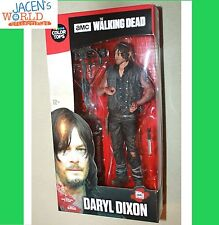 DARYL DIXON COLOR TOPS MCFARLANE RED WAVE #6 WALKING DEAD ACTION FIGURE 7""