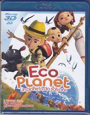 Blu-ray 3D +2D «ECO PLANET ~ UN PIANETA DA SALVARE» nuovo 2012