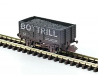 Gaugemaster GM2410112 N Gauge 7 Plank Wagon Bottrill Weathered