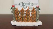 Charming Tails - Leaf Fence Accessory - Dean Griff Silvestri 87/047 - In Box