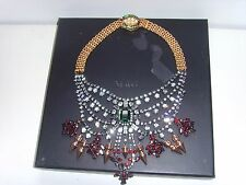 Mawi London Tiered Crystal Necklace With Spikes RRP £679