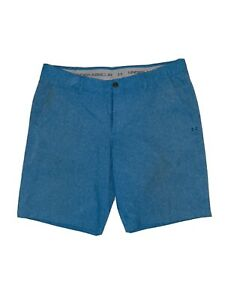 Under Armour Shorts Mens 40 Blue Golf Athletic Casual