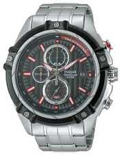 Pulsar Quartz (Battery) Sport Wristwatches with Chronograph