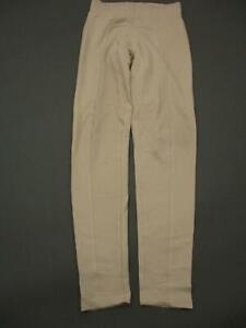 Zara Size S Womens Beige Casual Stretch High Rise Legging Pants T061
