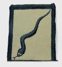 Gulf War pioneer Corp Snake Cloth Badge patch 4cm x 5 cm