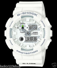 GAX-100A-7A White Casio Watches G-Shock 200M Analog Digital X-Large Resin New